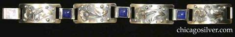 Laurence Foss bracelet with lapis