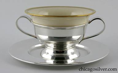 Clemens Friedell silver bouillon set