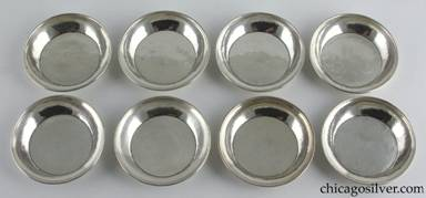 Clemens Friedell silver nut dishes