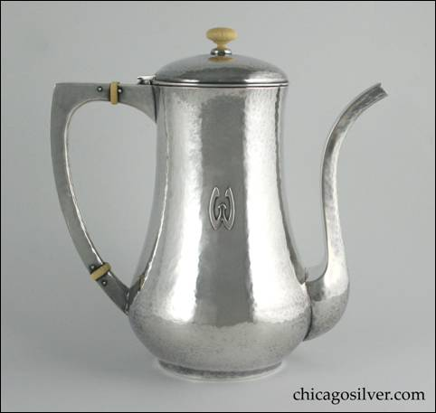 Isadore V. Friedman / Hull House coffeepot
