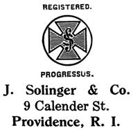 J. Solinger & Co. jewelry mark