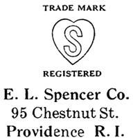E. L. Spencer Co. jewelry mark