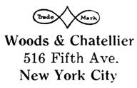 Woods & Chatellier jewelry mark