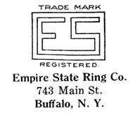 Empire State Ring Co. jewelry mark