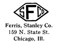 Ferris, Stanley Co. jewelry mark