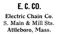 Electric Chain Co. jewelry mark