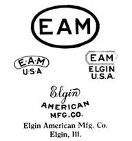 Elgin American Mfg. Co. jewelry mark