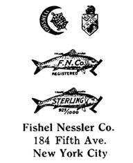 Fishel Nessler Co. jewelry mark