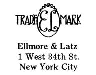 Ellmore & Latz jewelry mark