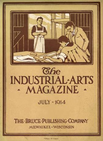 Industrial Arts Magazine Cover