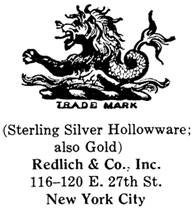 Redlich & Co. silver mark