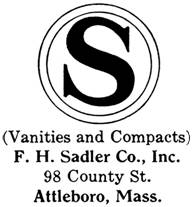 F. H. Sadler Co. silver mark