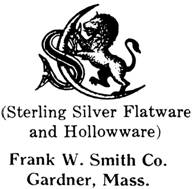 Frank W. Smith Co. silver mark