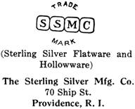 The Sterling Silver Mfg. Co. silver mark
