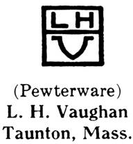 L. H. Vaughan silver mark