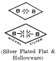 Benedict Mfg. Co. silver mark