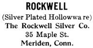 Rockwell Silver Co. silver mark