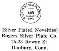 Rogers Silver Plate Co. silver mark