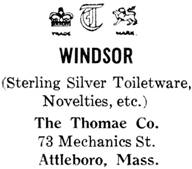 The Thomae Co. silver mark