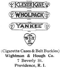 Wightman & Hough Co. silver mark