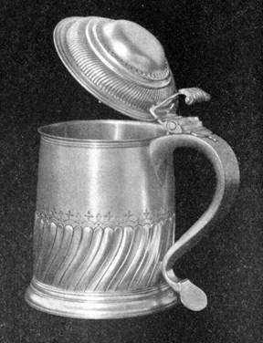 Reproduction by Arthur J. Stone of tankard